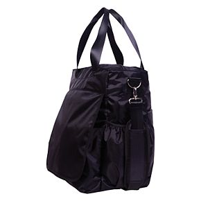 Trend Lab Baby Black Tote Diaper Bag
