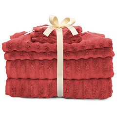 SONOMA Goods for Life™ Quick Dry Ribbed 6-piece Bath Towel Set