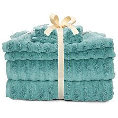 SONOMA Goods for Life™ Quick Dry Ribbed 6-piece Bath Towel Set