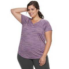 Plus Size Tek Gear® Space-Dye Base Layer Tee