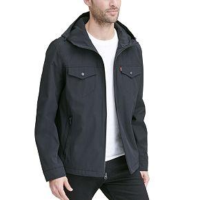 Men's Levi's Arctic Cloth Hooded Rain Jacket