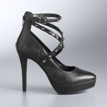 Simply Vera Vera Wang Women's Studded High Heels