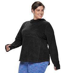 Plus Size Tek Gear® Microfleece Hoodie