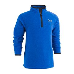 Boys 4-7 Under Armour Heathered Quarter Zip Fleece Pullover