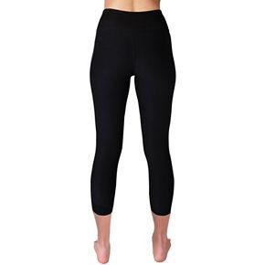 Women's Spalding Stripe High-Waisted Capri Leggings