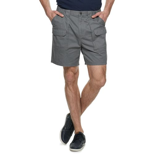 Big & Tall Croft & Barrow® Twill Cargo Shorts