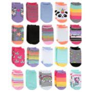 Girls 4-16 Elli by Capelli 20-pack No-Show Socks