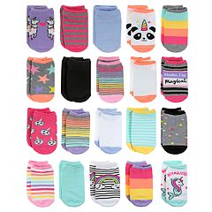 Girls 4-16 Elli by Capelli 20-pack No-Show Socks