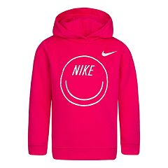 Girls 4-6x Nike Iridescent Heart Graphic Logo Hoodie