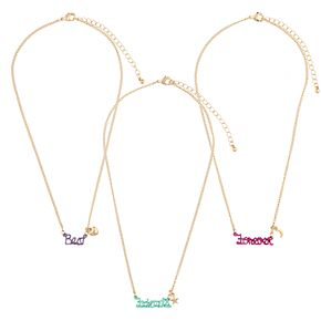 Girls 4-16 Elli by Capelli Best Friends Forever Necklace Set