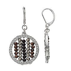 Simply Vera Vera Wang Beaded Drop Earrings