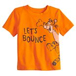 "Disney's Tigger Baby Boy ""Let's Bounce"" Softest Active Graphic Tee by Jumping Beans®"