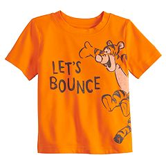 Disney's Tigger Baby Boy 'Let's Bounce' Softest Active Graphic Tee by Jumping Beans®