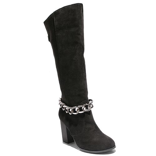 Two Lips Too Too Lean Women's Knee High Boots