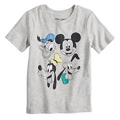 Disney's Mickey Mouse & Friends Boys 4-12 Heathered Softest Graphic Tee by Jumping Beans®