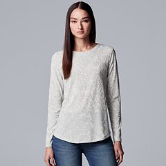 Women's Simply Vera Vera Wang Floral Lace Tee