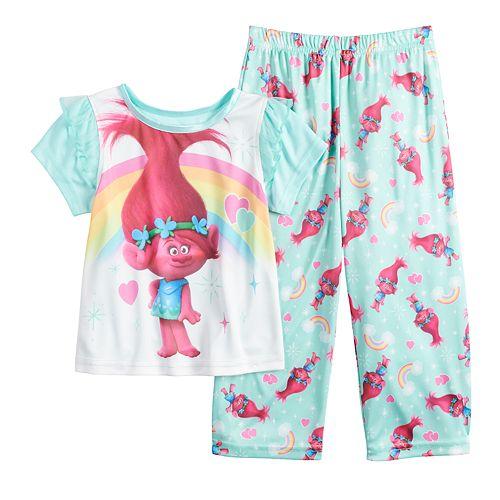 Toddler Girl DreamWorks Trolls Poppy Top & Bottoms Pajama Set