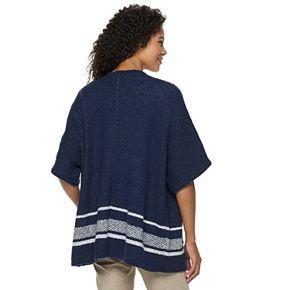 Women's Dana Buchman Oversized Poncho