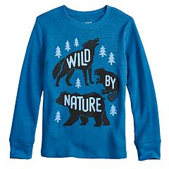 Boys 4-12 Jumping Beans® 'Wild By Nature' Thermal Top