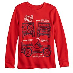 Boys 4-12 Jumping Beans® Cars Thermal Graphic Tee