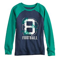 Boys 4-12 Jumping Beans® '8 Football' Raglan Graphic Tee