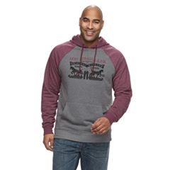 Big & Tall Levi's Digs Fleece Pull-Over Hoodie