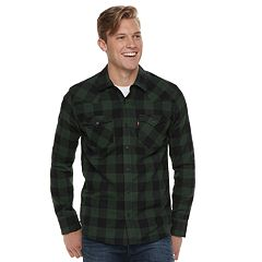Big & Tall Levi's Lassen Buffalo Plaid Button-Down Shirt