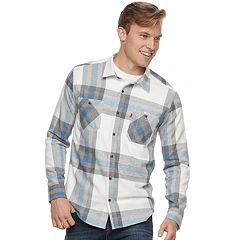 Big & Tall Levi's Abbotts Flannel Button-Down Shirt