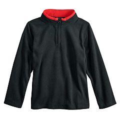 Boys 4-12 Jumping Beans® Quarter Zip Fleece Pullover