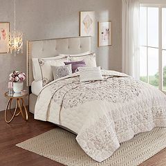 Madison Park 6-piece Evelyn Reversible Coverlet Set