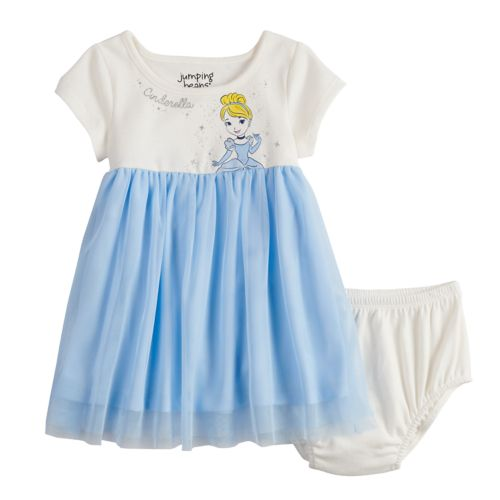 Disney's Cinderella Baby Girl Tulle Dress By Jumping Beans® by Disney's Cinderella Baby Girl Tulle Dress By Jumping Beans