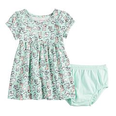 Disney's Aristocats Baby Girl Print Babydoll Dress by Jumping Beans®