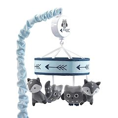 Lambs & Ivy Stay Wild Animal Musical Mobile