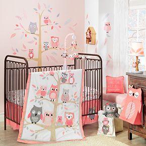Lambs & Ivy 4 Piece Family Tree Crib Bedding Set