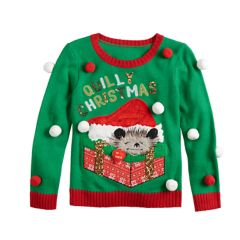 Ugly Christmas Sweaters Sweaters Tops Clothing Kohls