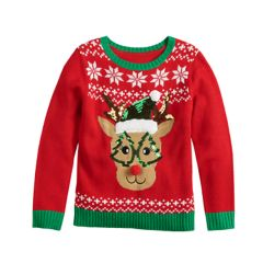 Crewneck Ugly Christmas Sweaters Christmas Tops Clothing Kohls