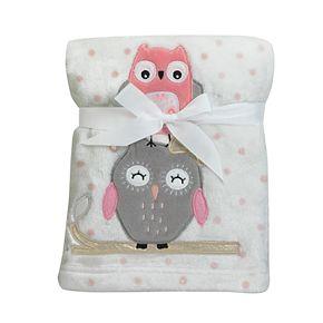 Lambs & Ivy Stay Family Tree Owl Blanket