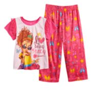 Disney's Fancy Nancy Toddler Girl Top & Bottoms Pajama Set