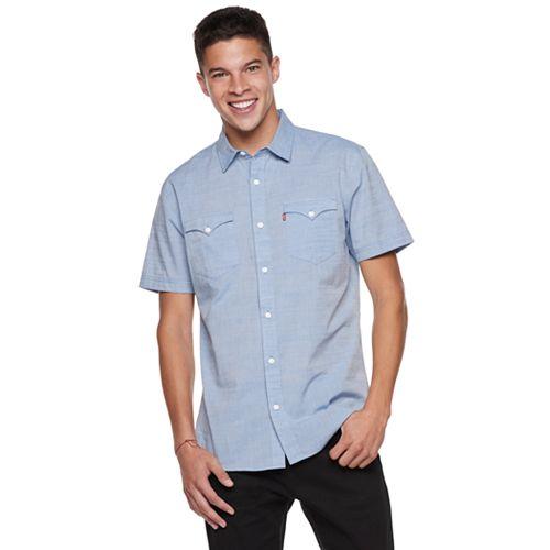 Men's Levi's Bucci Poplin Button-Down Shirt