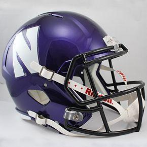 Riddell Northwestern Wildcats Speed Replica Helmet