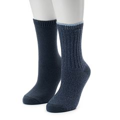 Women's SONOMA Goods for Life™ 2-Pack Ribbed Crew Socks