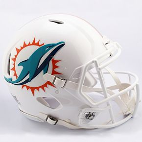 Riddell Miami Dolphins Speed Authentic Helmet