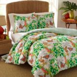 Nine Palms Butterfly Garden Comforter Set
