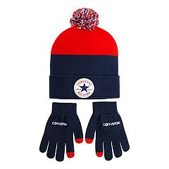 b6f353e2ad9 Boys 4-20 Converse Chuck Patch Beanie   Glove Set