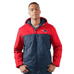 Men's New England Patriots Exploration Parka Jacket
