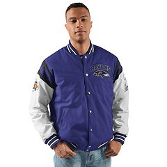 Men's Baltimore Ravens Home Team Jacket