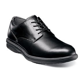 Nunn Bush Marvin Street Men's Waterproof Plain Toe Oxford Dress Shoes