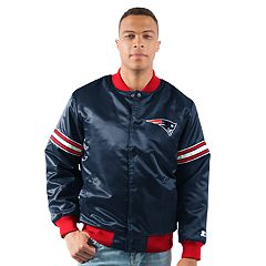Men's New England Patriots Draft Pick Bomber Jacket
