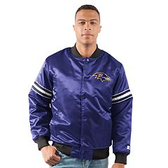 Men's Baltimore Ravens Draft Pick Bomber Jacket