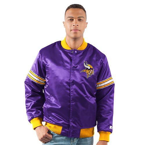 separation shoes d3c56 84392 Men's Minnesota Vikings Draft Pick Bomber Jacket